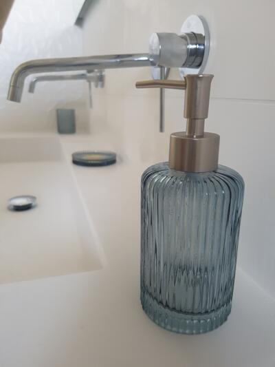 Salle de bain vintage blanc